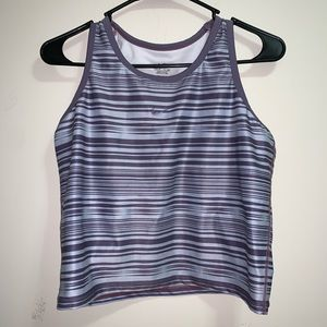 Purple Nike tank top & sports bra